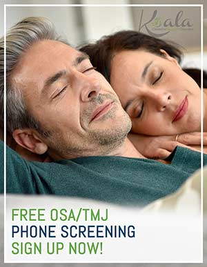 Free Phone Screening at Koala® Center for Sleep and TMJ Disorders in Columbia, MO